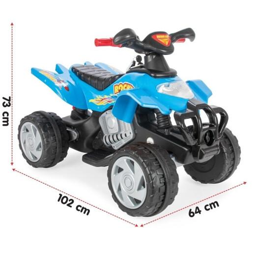 ATV electric pentru copii Pilsan ROCKET 12V Rosu