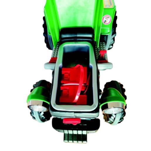 Tractor electric Pilsan SUPER 12V Rosu