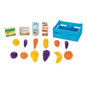 Ladita cu fructe si legume 16 piese PILSAN Albastra